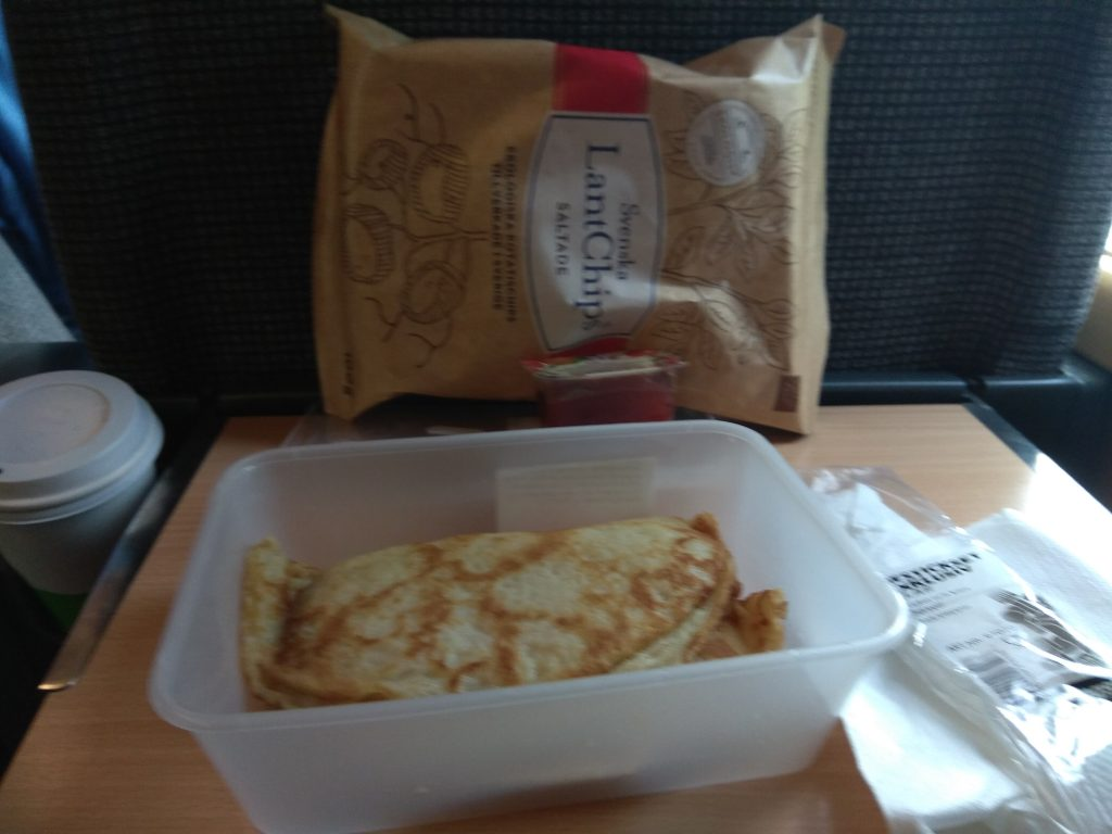 Train food copenhagen to stockholm train